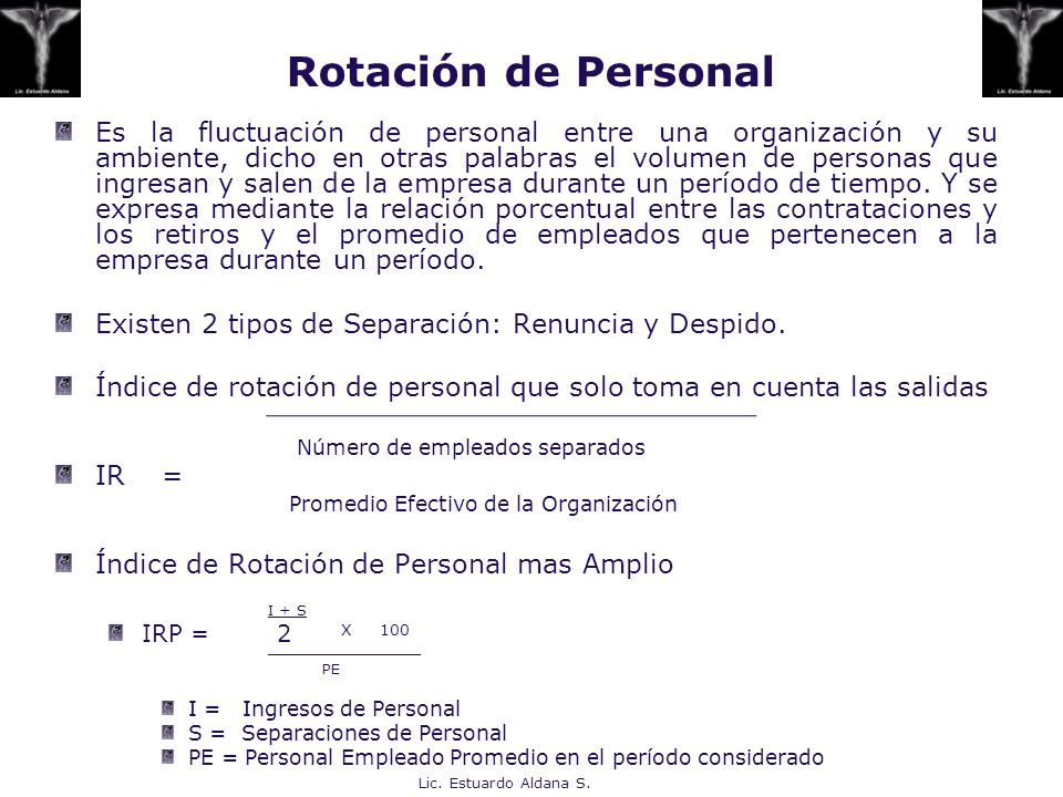 Rotación de Personal