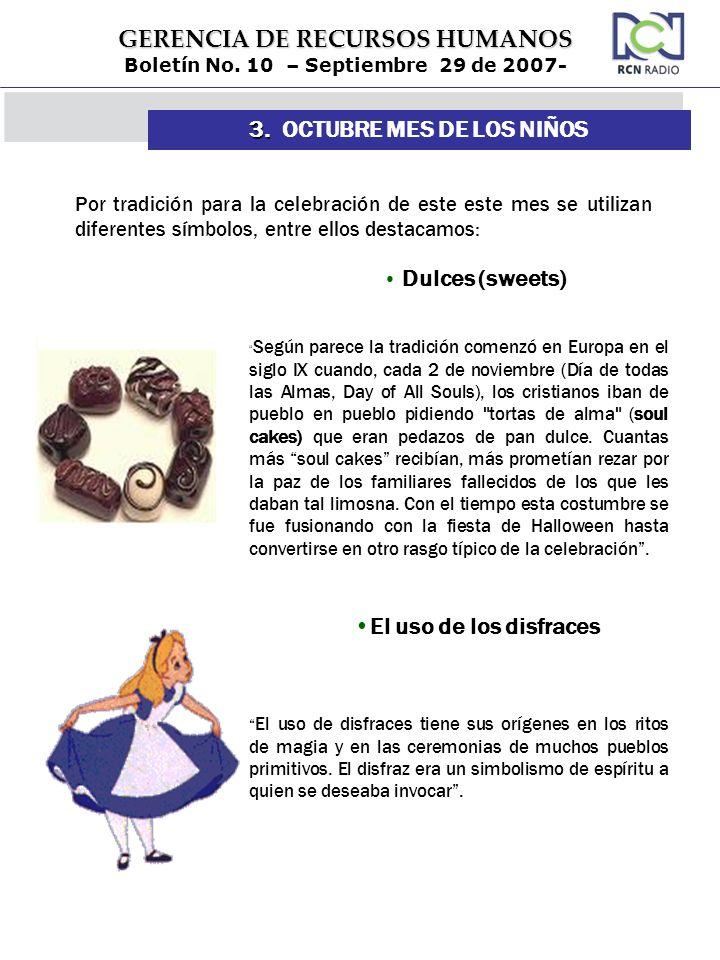 3. OCTUBRE MES DE LOS NIÑOS