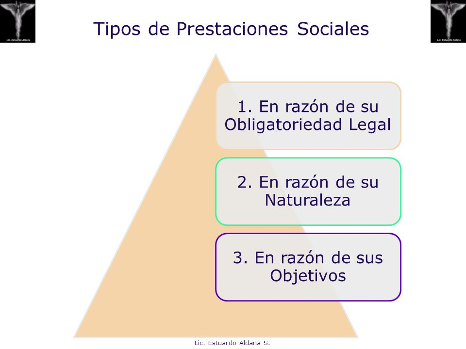 Tipos de Prestaciones Sociales