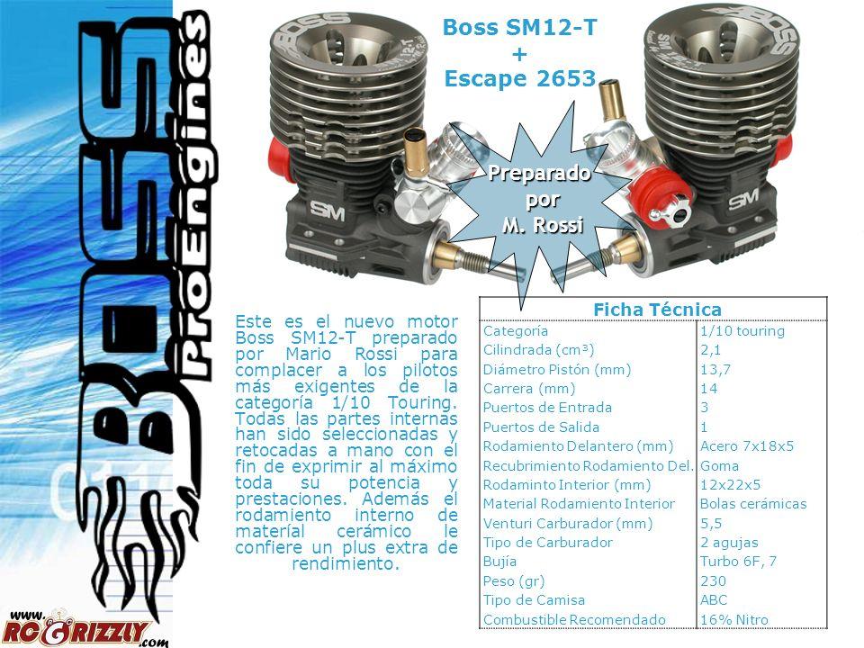 Boss SM12-T + Escape 2653 Preparado por M. Rossi Ficha Técnica