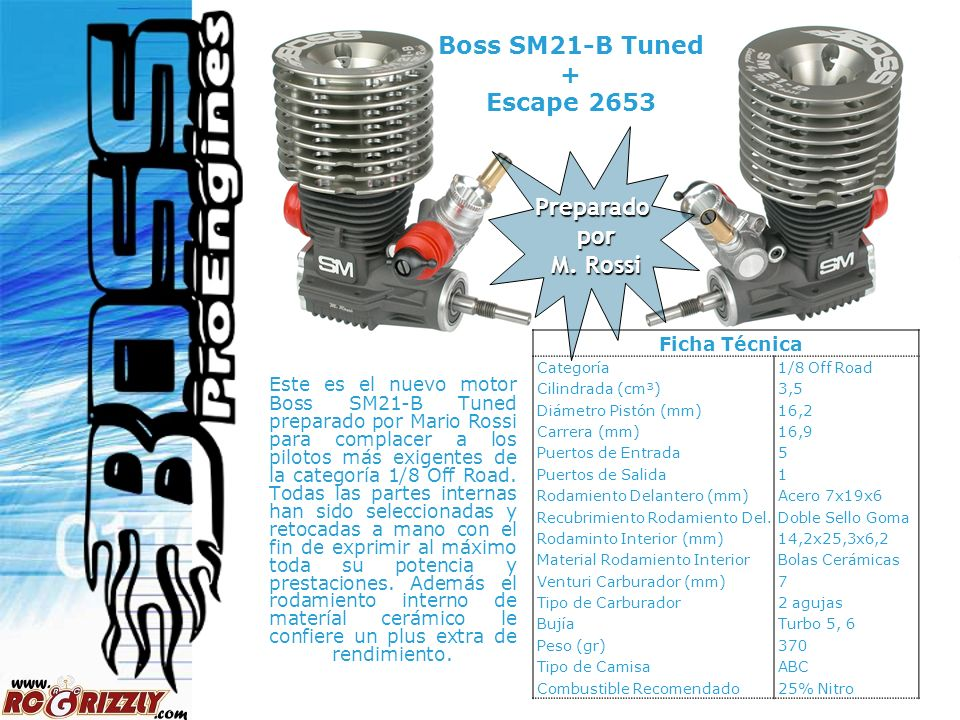 Boss SM21-B Tuned + Escape 2653