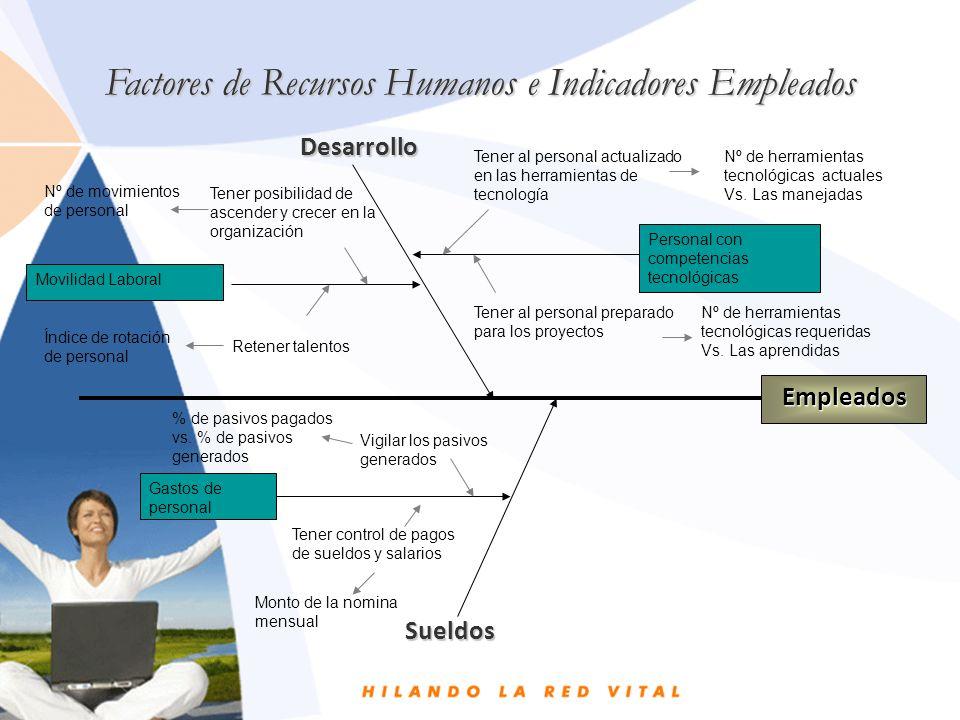 Factores de Recursos Humanos e Indicadores Empleados