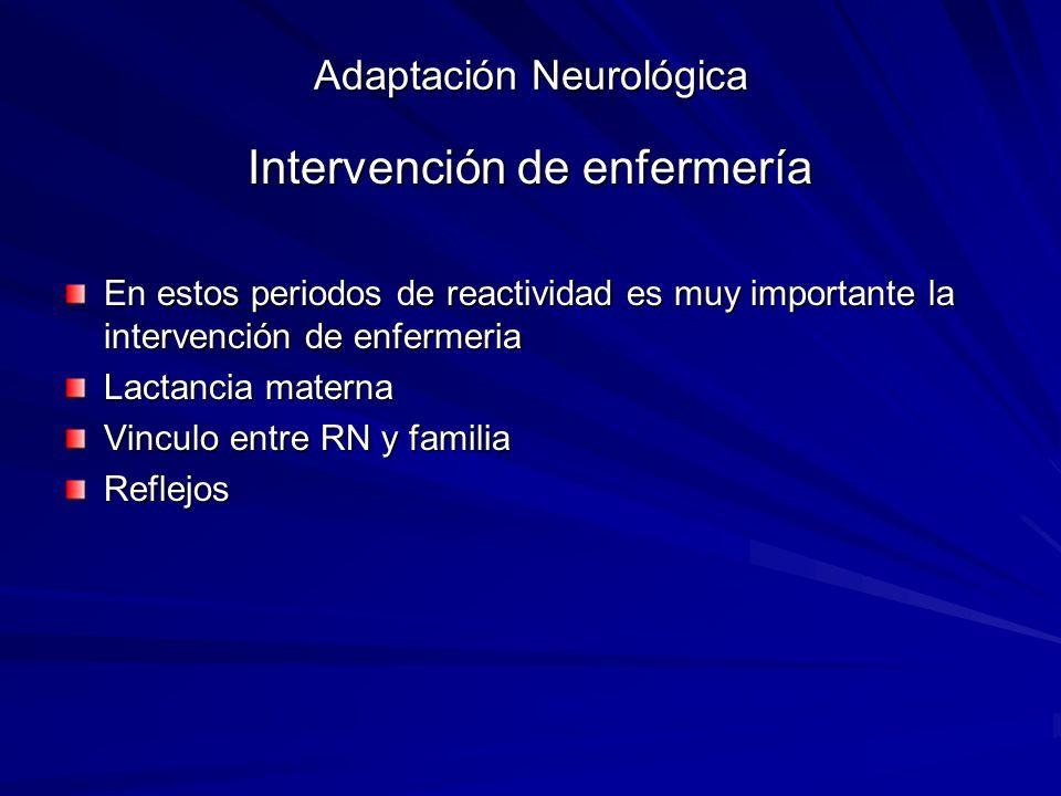 Adaptación Neurológica