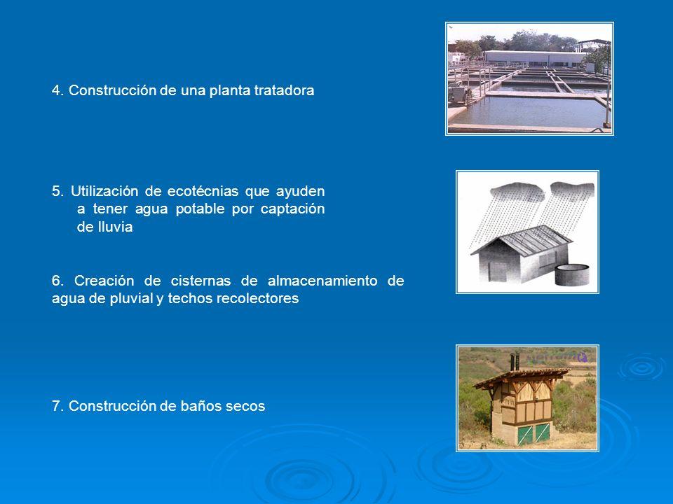 4. Construcción de una planta tratadora