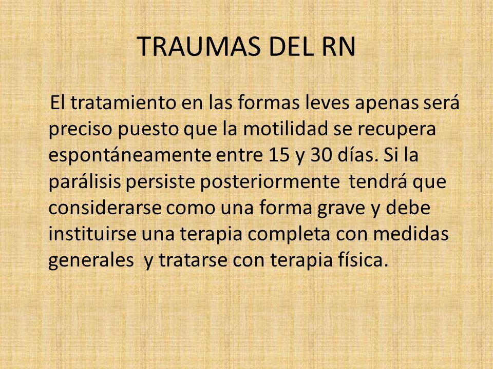 TRAUMAS DEL RN