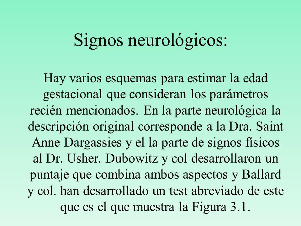 Signos neurológicos:
