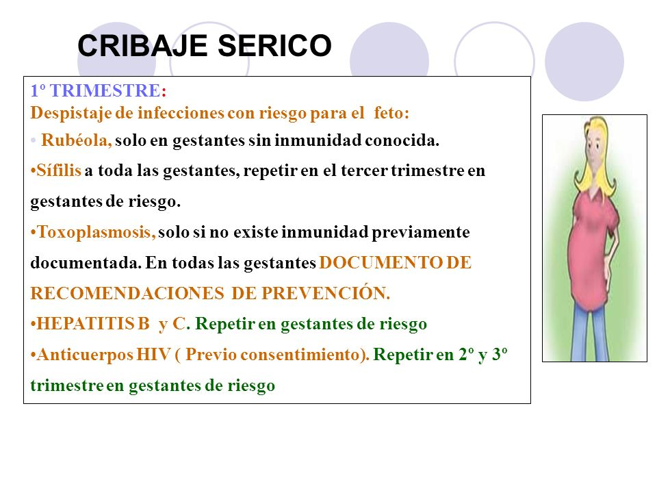 CRIBAJE SERICO 1º TRIMESTRE: