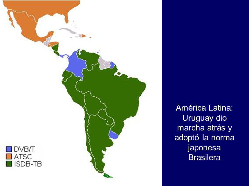 América Latina: Uruguay dio marcha atrás y adoptó la norma japonesa Brasilera