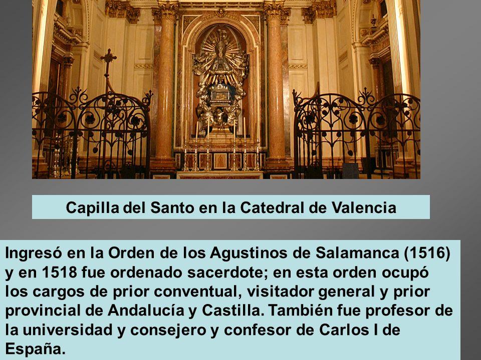 Capilla del Santo en la Catedral de Valencia