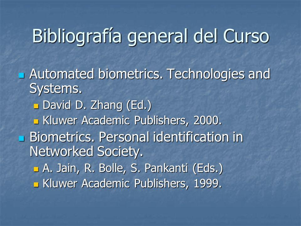 Bibliografía general del Curso