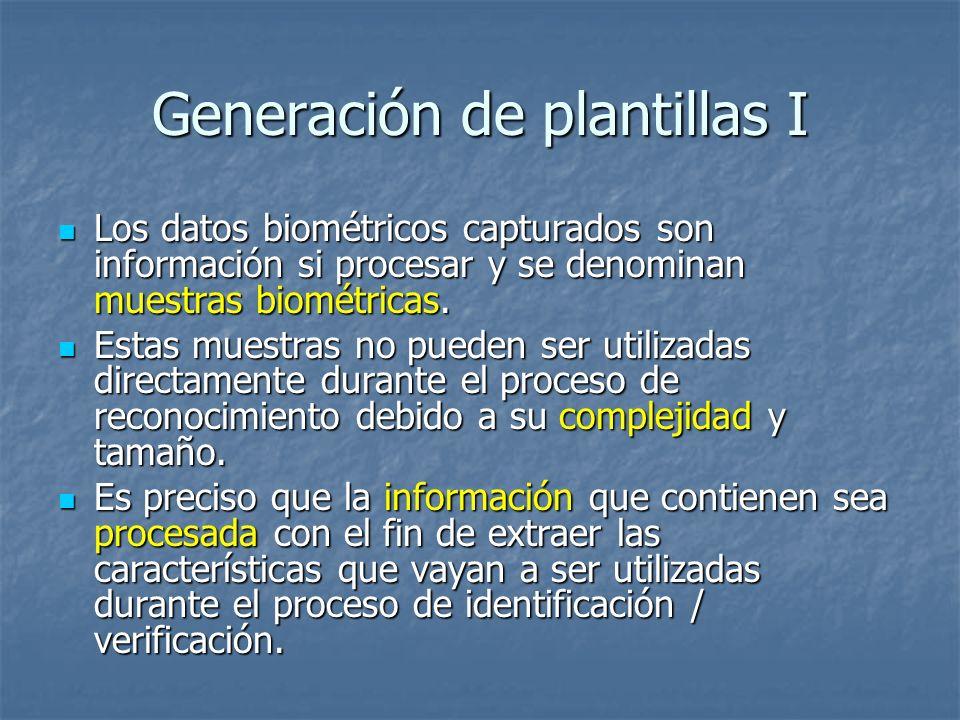 Generación de plantillas I