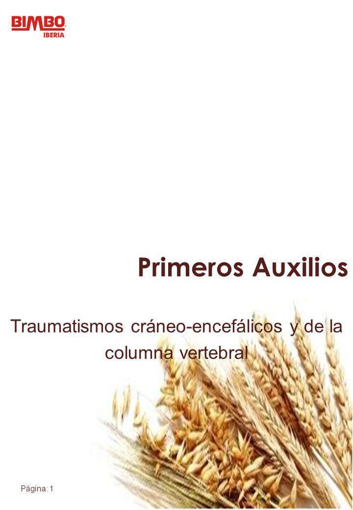 Traumatismos cráneo-encefálicos y de la columna vertebral