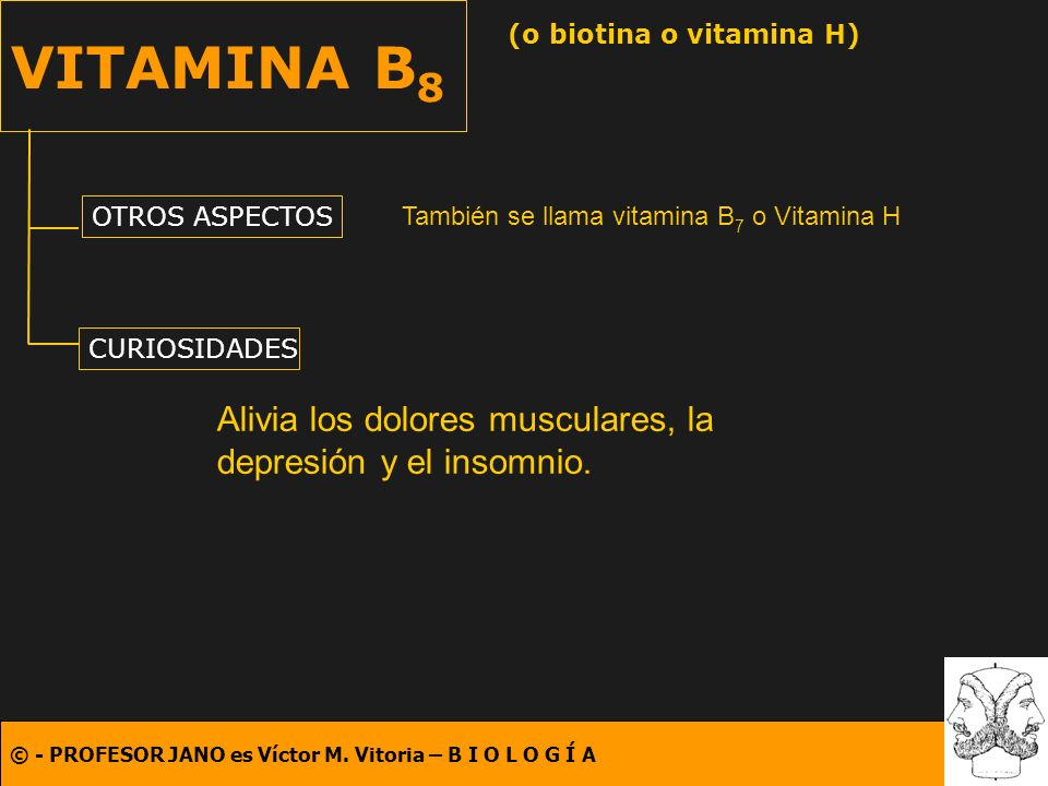(o biotina o vitamina H)