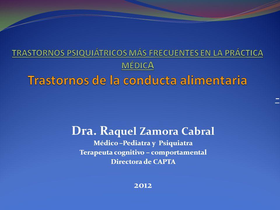 Dra. Raquel Zamora Cabral