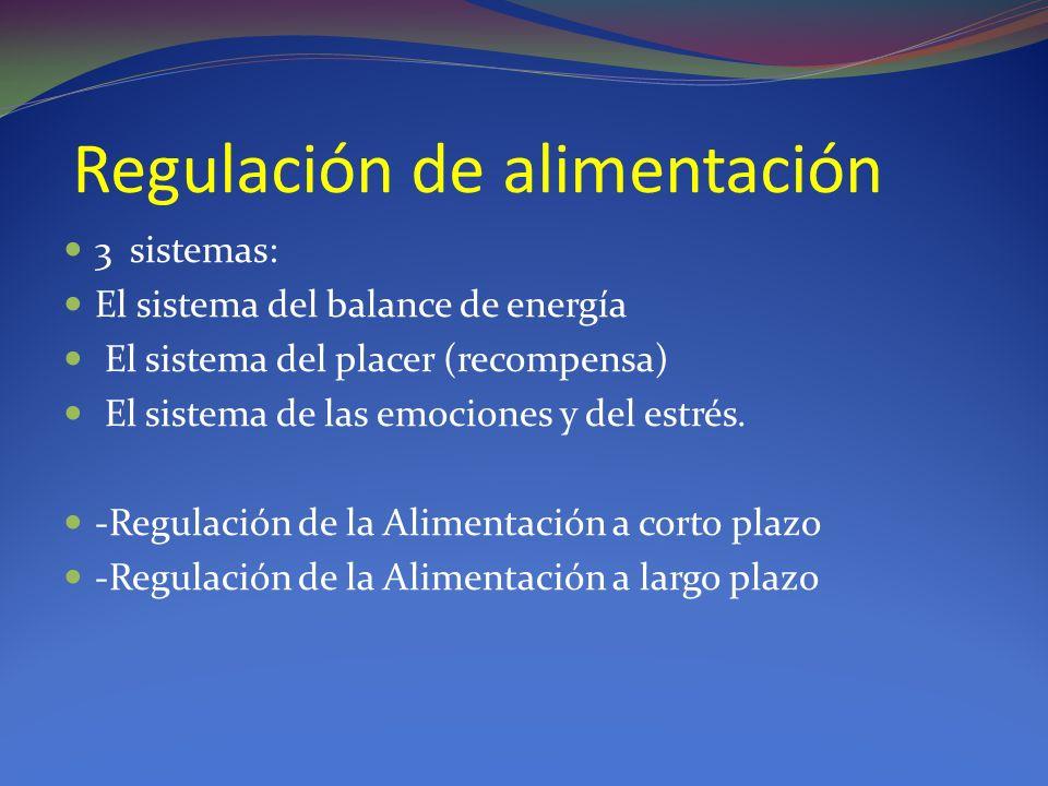 Regulación de alimentación