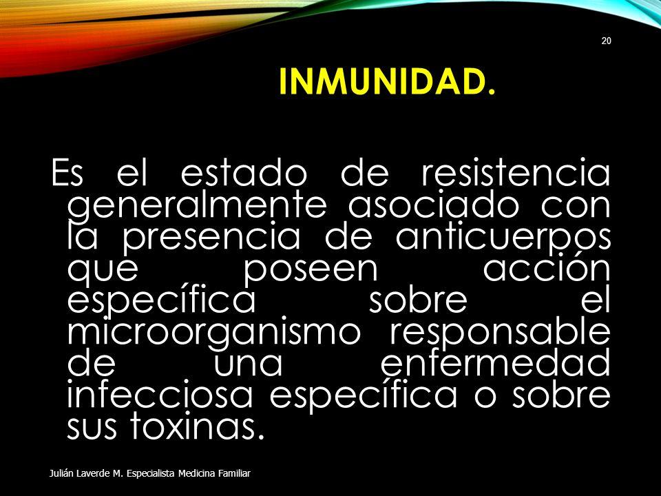 Inmunidad.