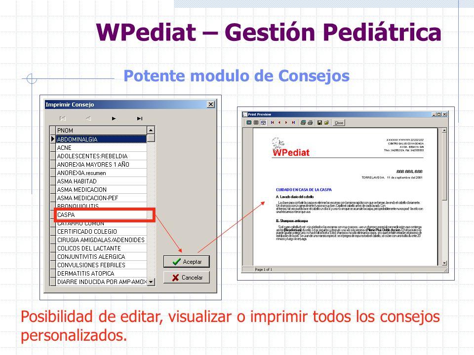 WPediat – Gestión Pediátrica