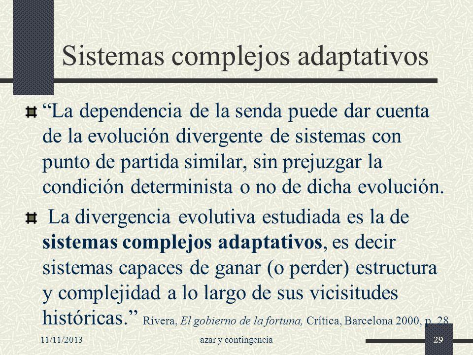 Sistemas complejos adaptativos