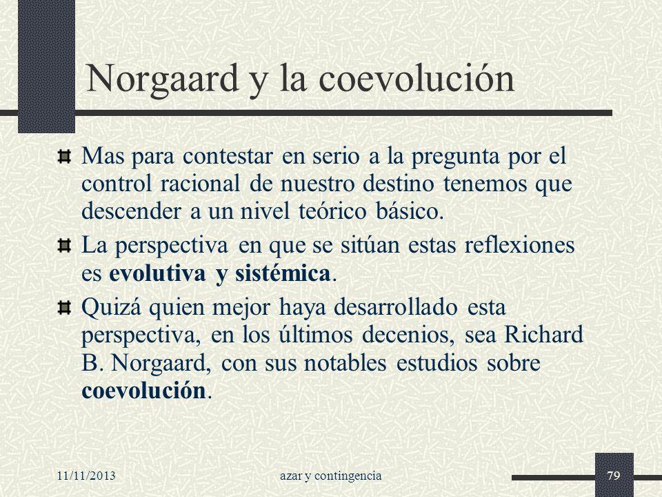 Norgaard y la coevolución