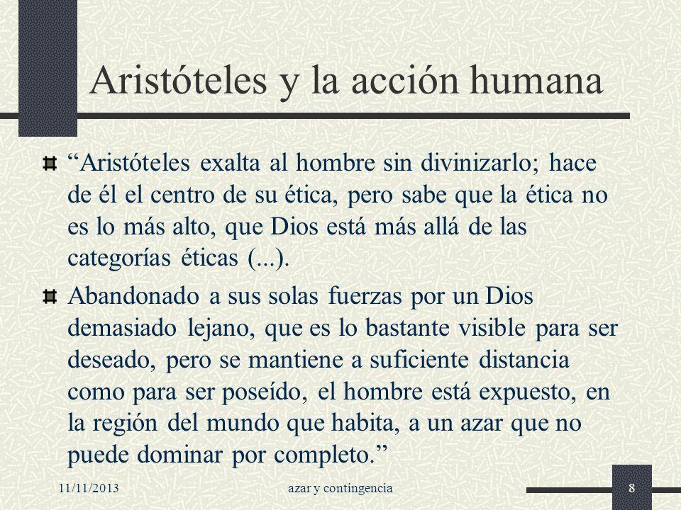 Aristóteles y la acción humana