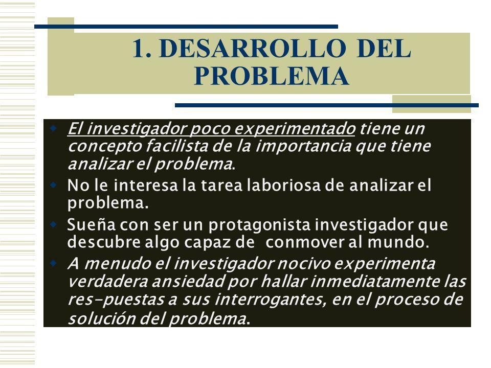 1. DESARROLLO DEL PROBLEMA