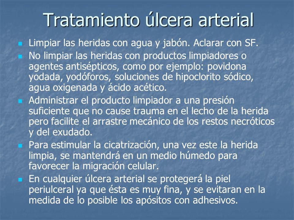 Tratamiento úlcera arterial