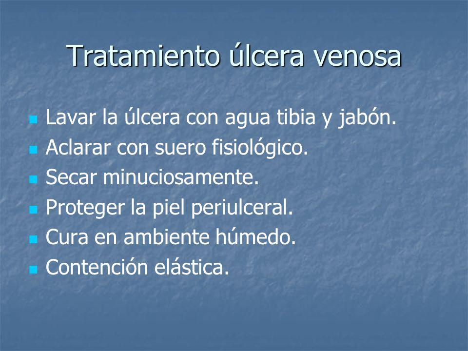 Tratamiento úlcera venosa