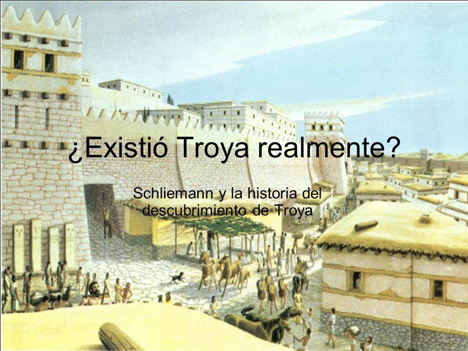 ¿Existió Troya realmente