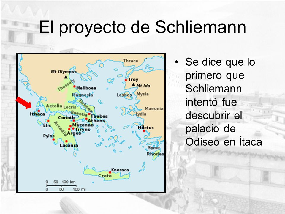 El proyecto de Schliemann