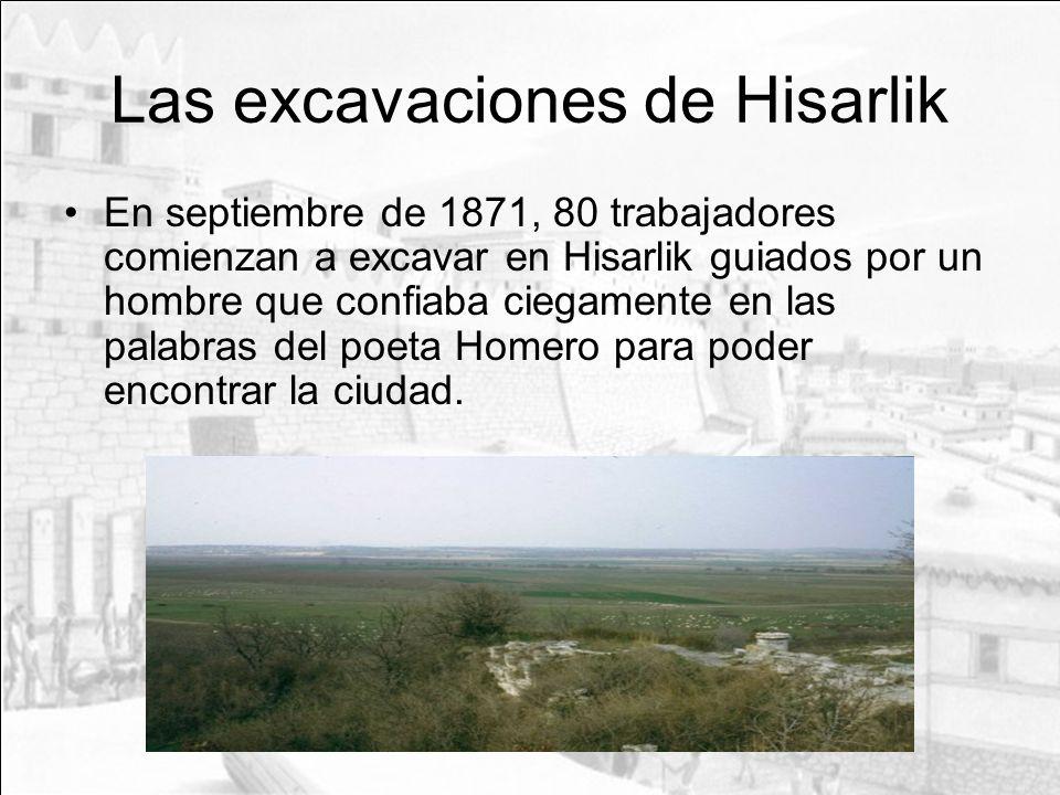 Las excavaciones de Hisarlik