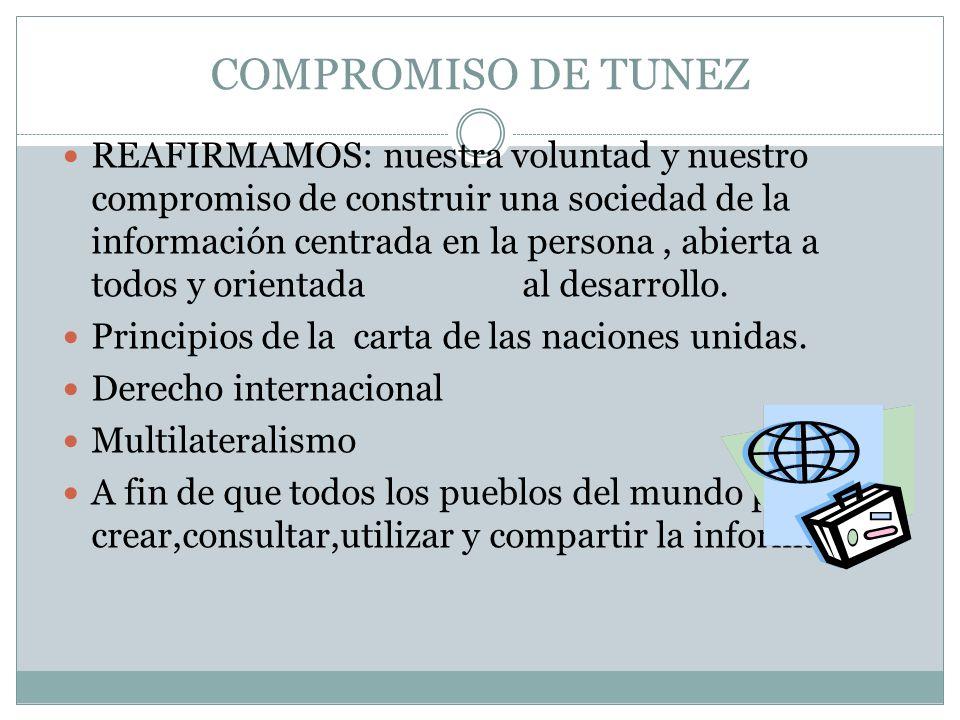 COMPROMISO DE TUNEZ