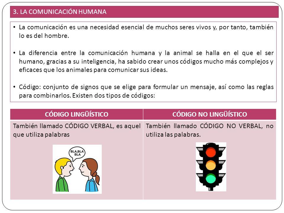 3. LA COMUNICACIÓN HUMANA