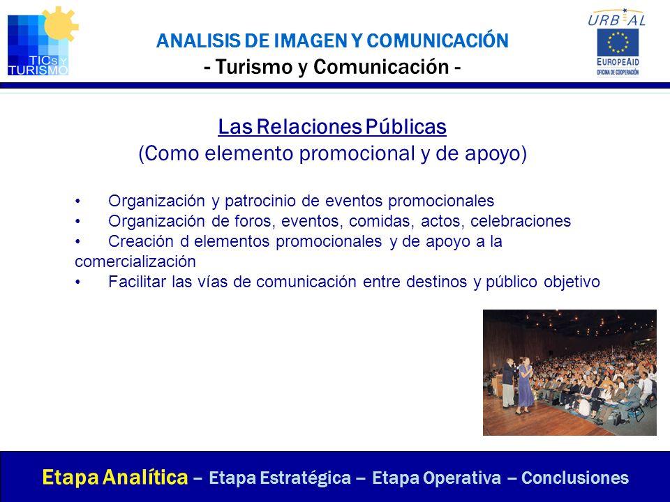 ANALISIS DE IMAGEN Y COMUNICACIÓN - Turismo y Comunicación -