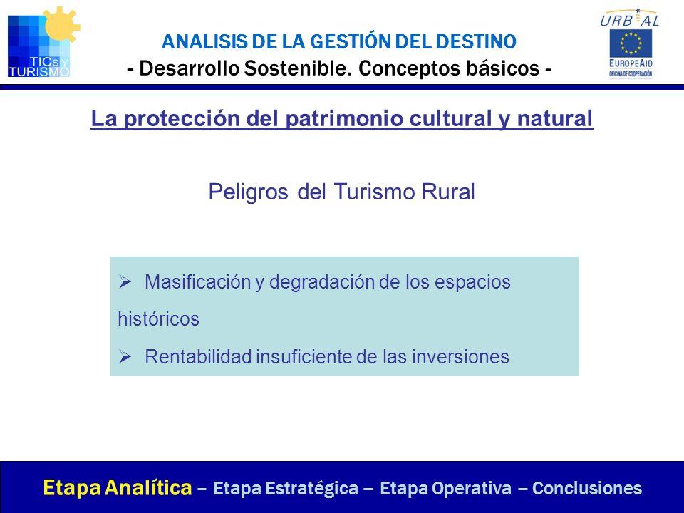 La protección del patrimonio cultural y natural