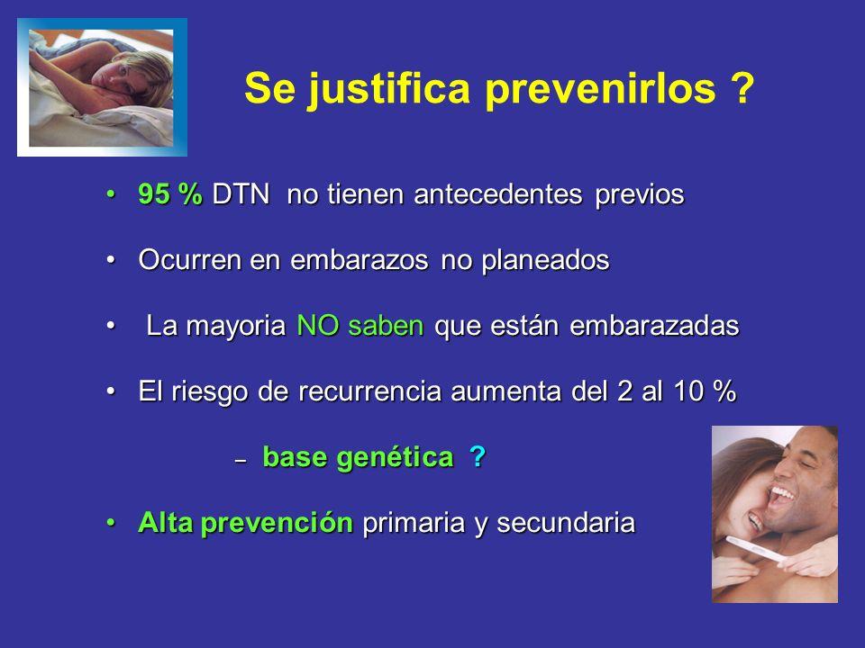 Se justifica prevenirlos