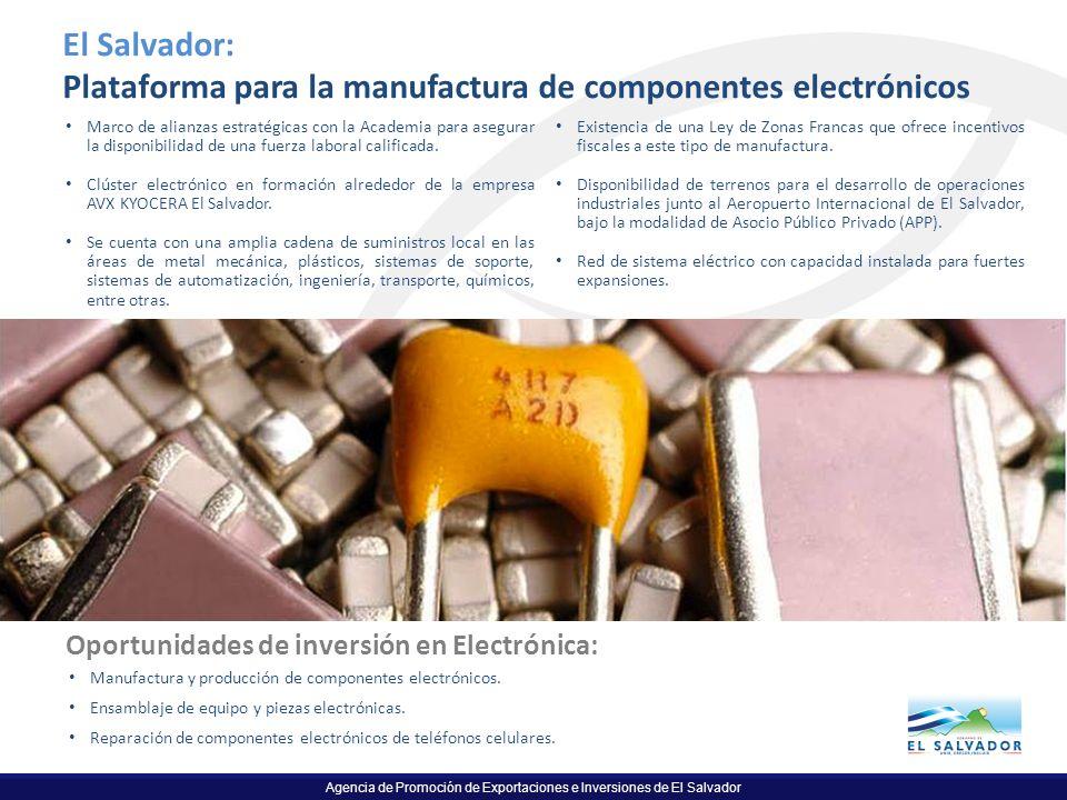 Plataforma para la manufactura de componentes electrónicos