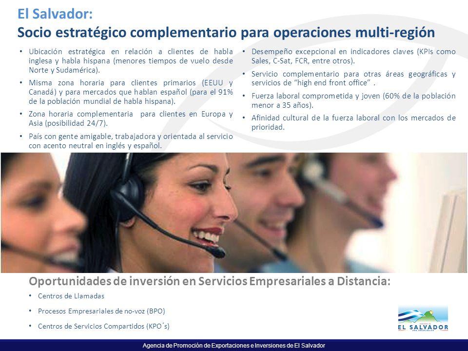 Socio estratégico complementario para operaciones multi-región