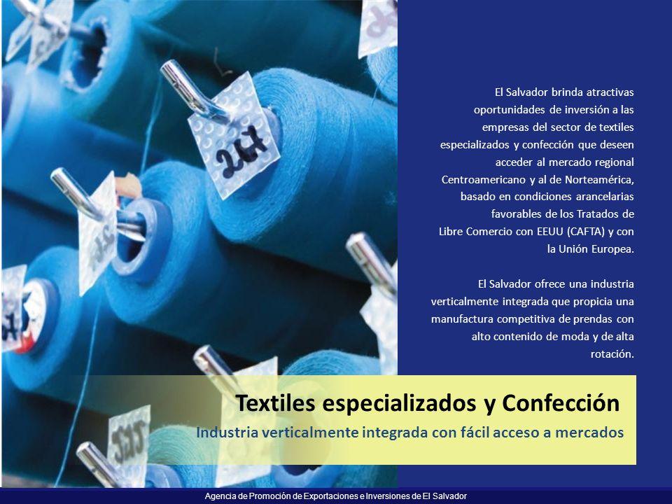 Textiles especializados y Confección