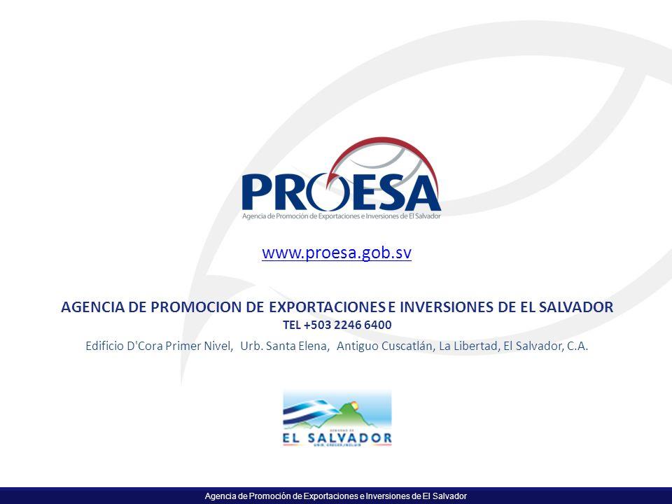 AGENCIA DE PROMOCION DE EXPORTACIONES E INVERSIONES DE EL SALVADOR