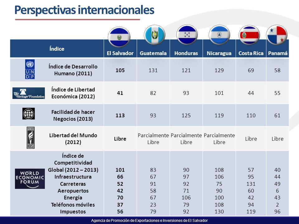 Perspectivas internacionales