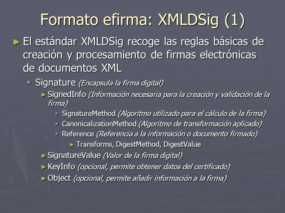 Formato efirma: XMLDSig (1)