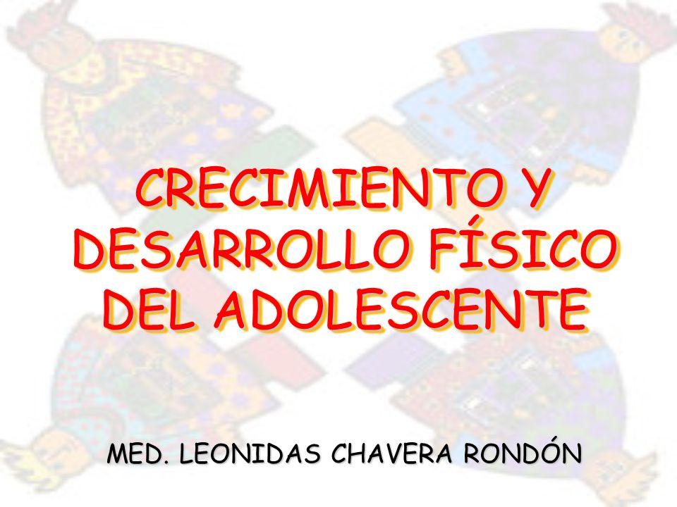 CRECIMIENTO Y DESARROLLO FÍSICO DEL ADOLESCENTE