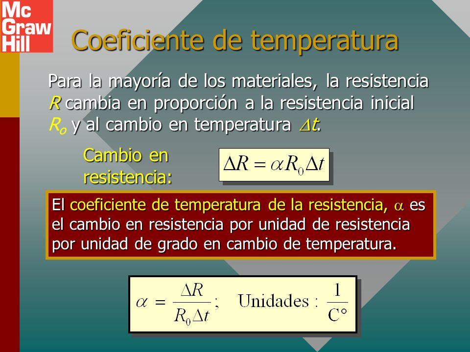 Coeficiente de temperatura