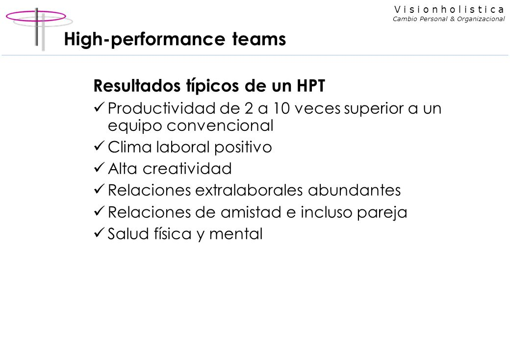 High-performance teams