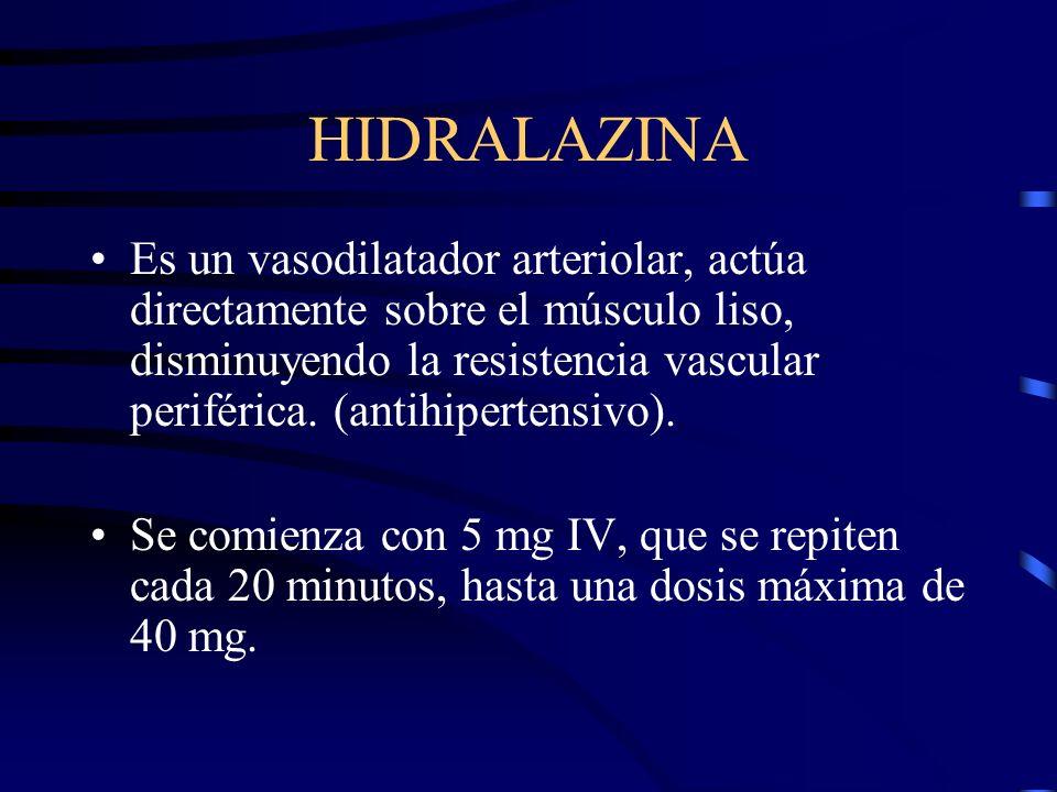 HIDRALAZINA