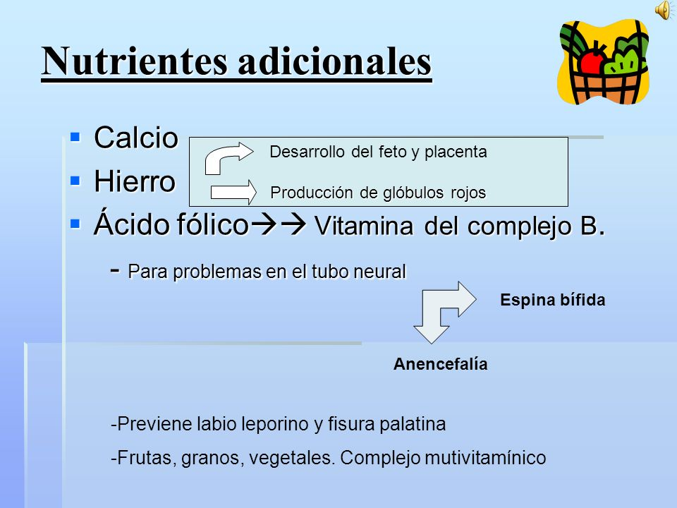 Nutrientes adicionales