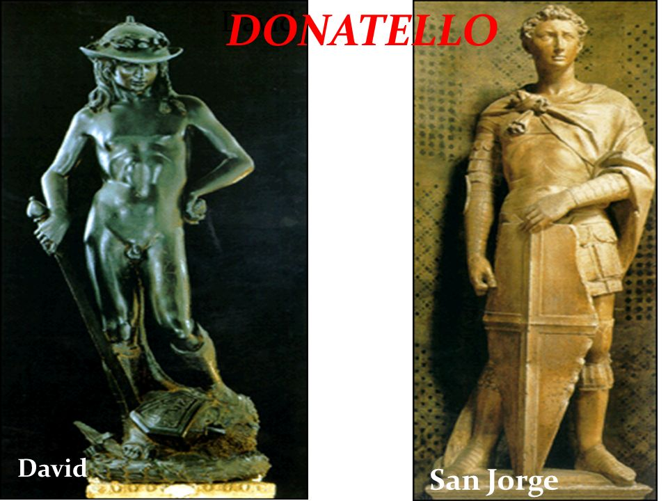 David DONATELLO David San Jorge