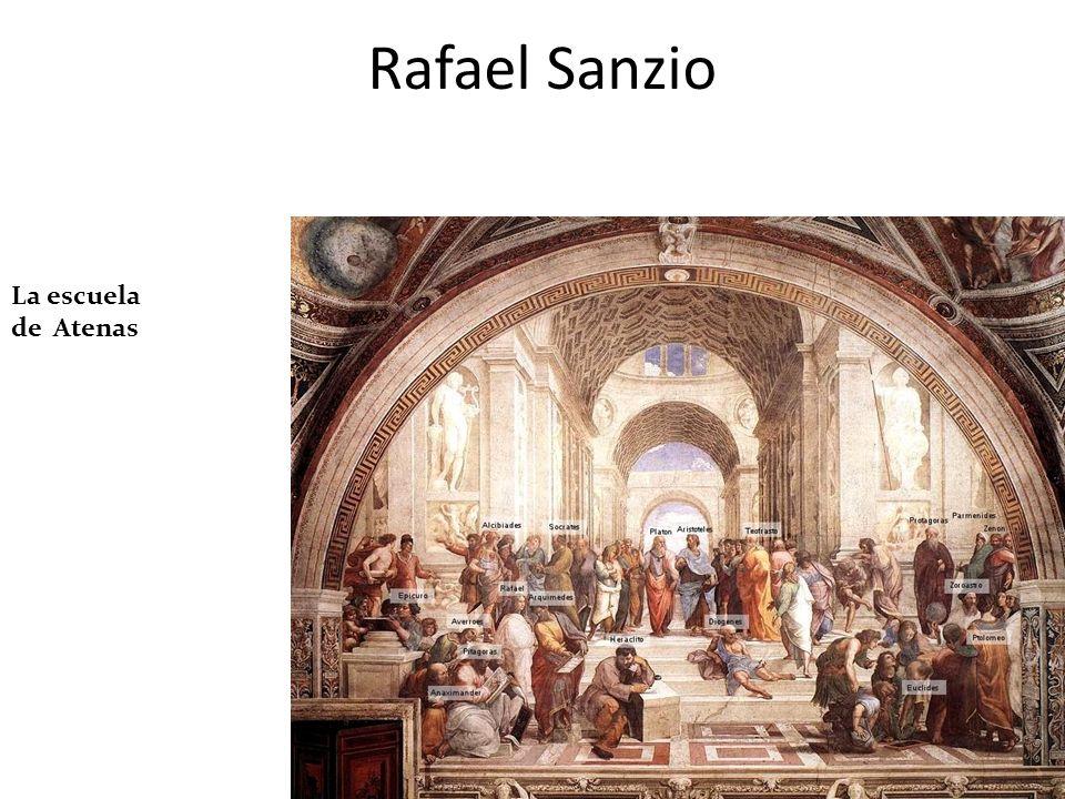 Rafael Sanzio La escuela de Atenas