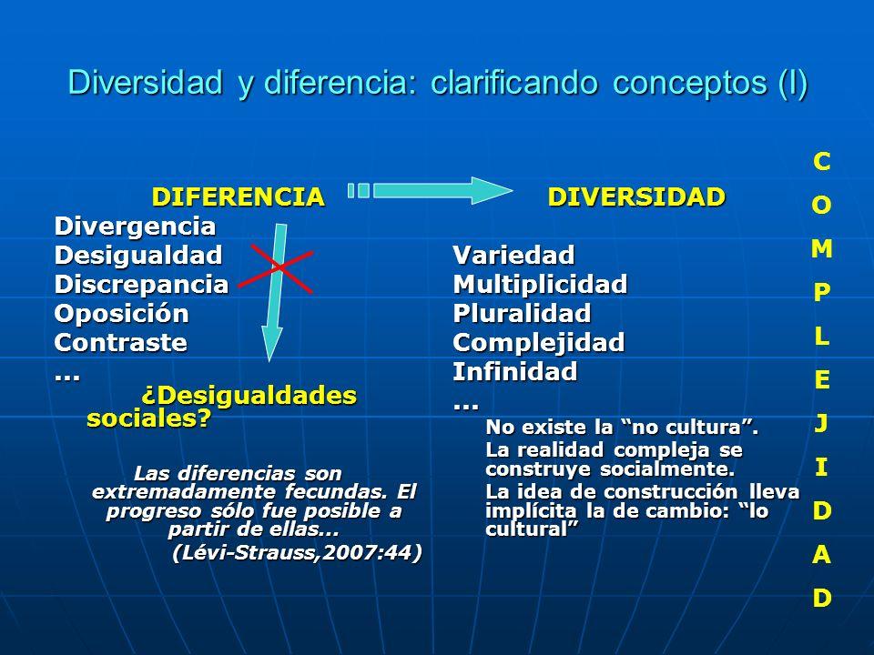 Diversidad y diferencia: clarificando conceptos (I)