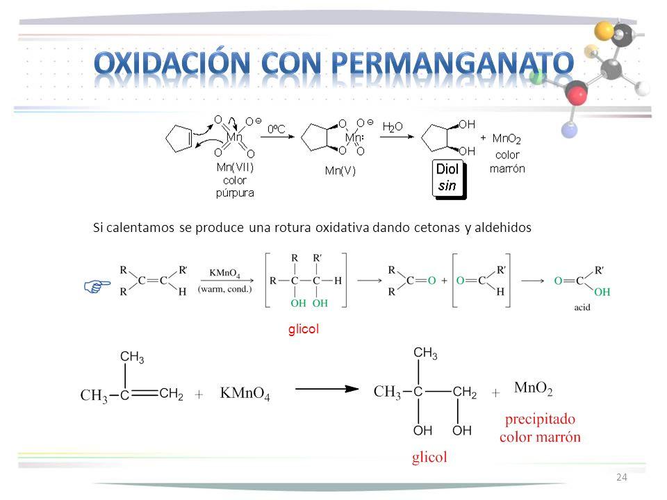 Oxidación con permanganato